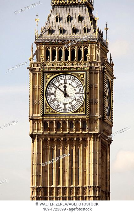Great Britain, England, London, big ben