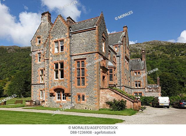 Kinlochmoidart House  1884  County of Argyll West Scotland