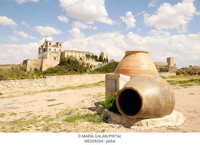 Monastery. Uclés, Cuenca province, Castilla La Mancha, Spain