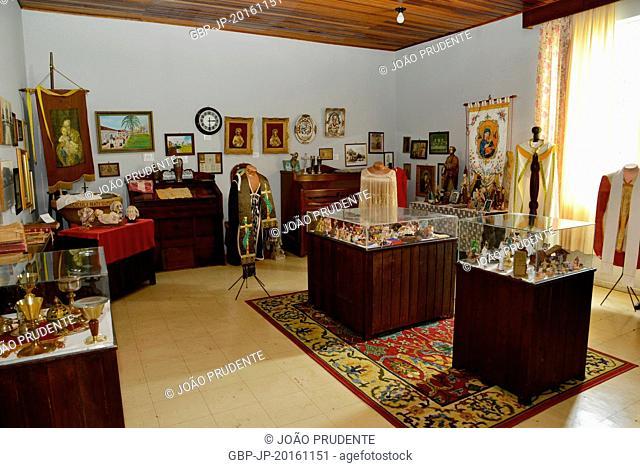 Interior Historical Museum located in Piazza Leopoldo Mercer, Tibagi, Paraná, Brazil 12.2014