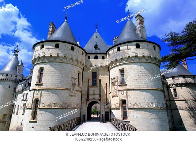 france,41, loire castles : chaumont castle