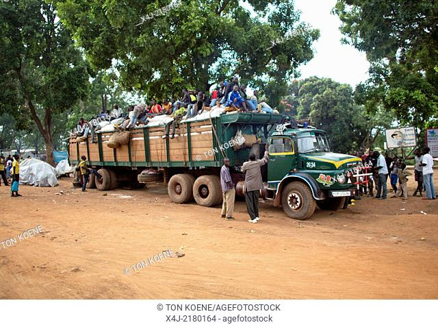 truck in central african republic