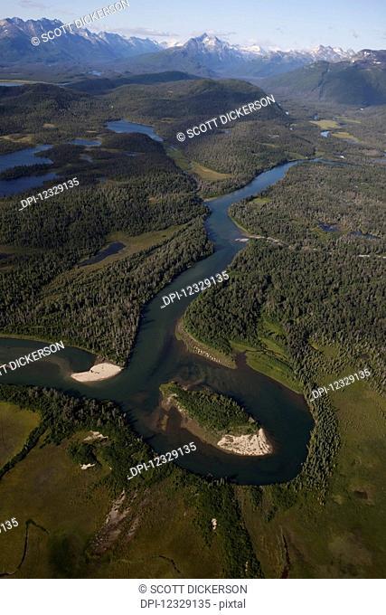 Iliamna River, Lake And Peninsula Borough; Alaska, United States Of America