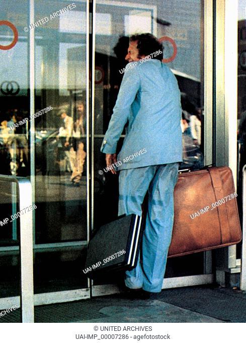 Ein Tolpatsch kommt selten allein, (LA CHEVRE) F 1981, Regie: Francis Veber, PIERRE RICHARD, Stichwort: Koffer, Tür