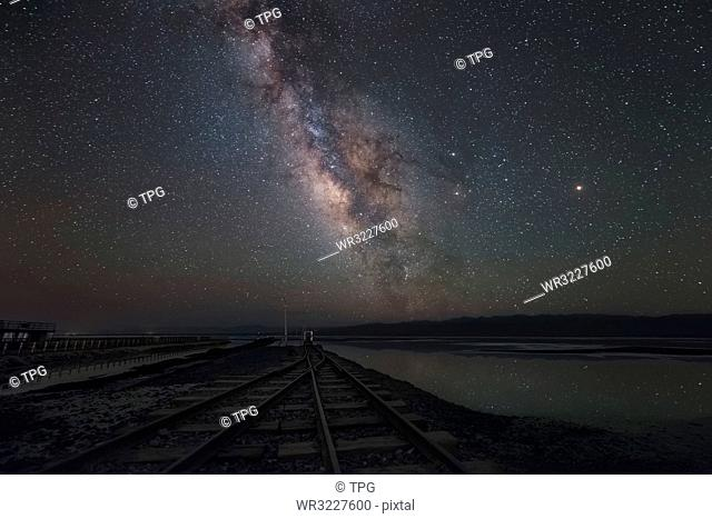 The track to the sky