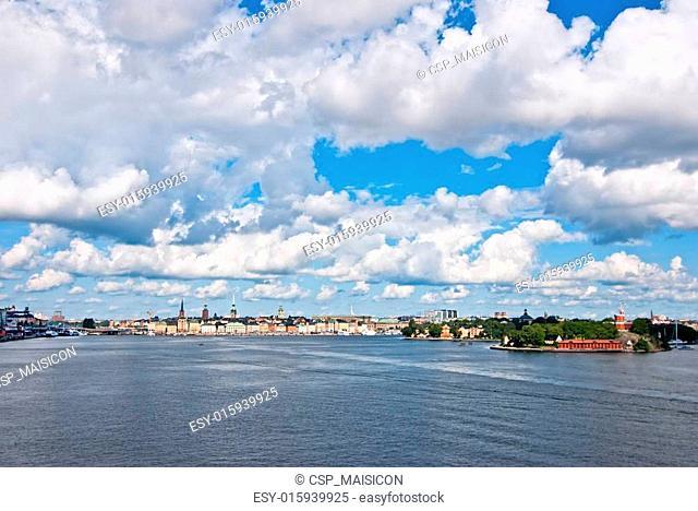 Stockholm of the old city. Sweden