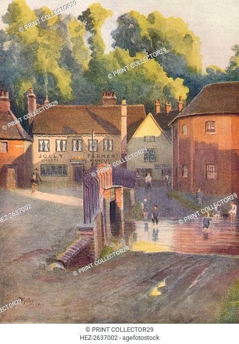 'Cobbett's Birthplace, Farnham', 1911, (1914). Artist: James S Ogilvy