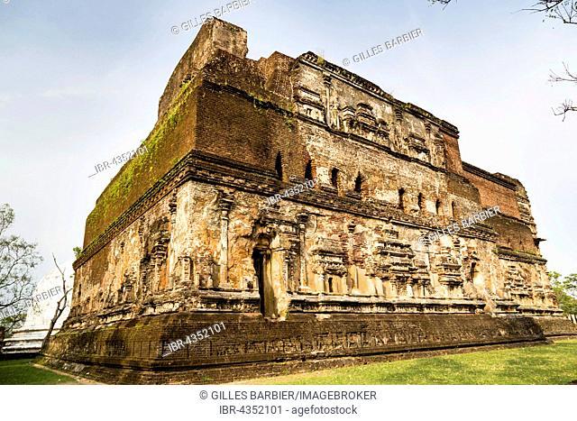 Lankatilaka Temple, Sacred City of Pollonnaruwa, Polonnaruwa, North Central Province, Sri Lanka