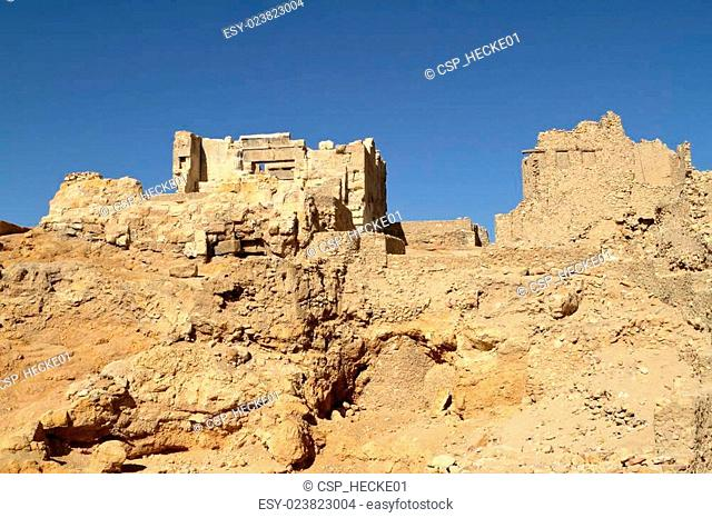 Temple of Ammon in the oasis Siwa