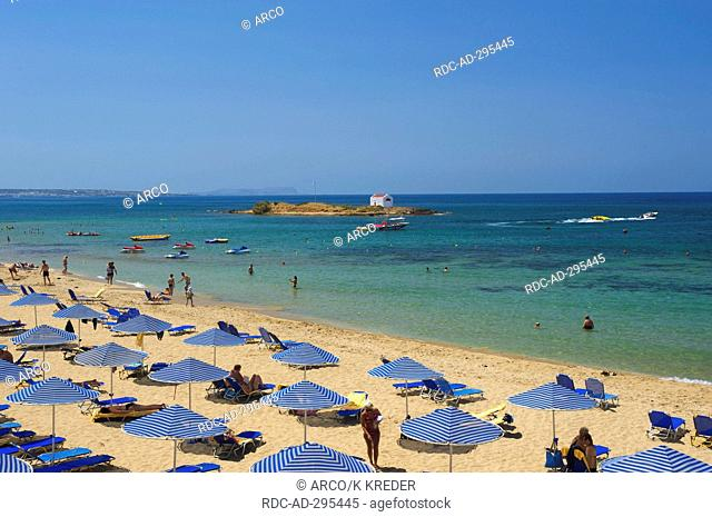 Malia Beach, Crete, Greece
