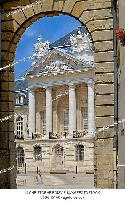 Place de la Liberation and palais des Ducs et des Etats de Borgogne, Dijon, Cotes d'Or, France