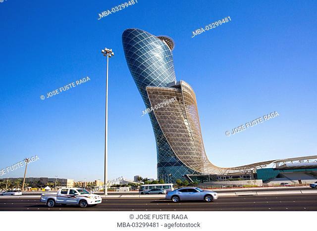 Capital gates Tower, Abu Dhabi