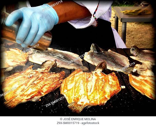Mistura fair. Food fair in Lima. Peru