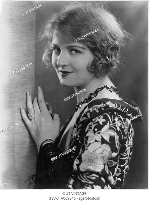 Doris Kenyon, Publicity Portrait for the Silent Films, Men of Steel and Ladies at Play, First National Pictures, 1926