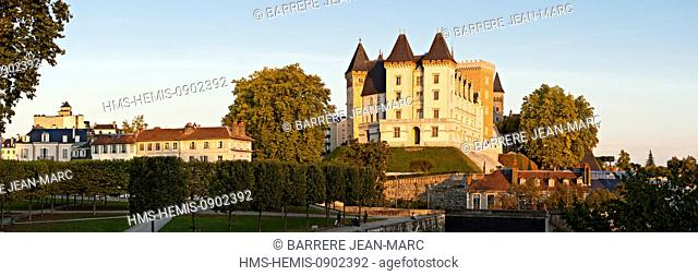 France, Pyrenees Atlantiques, Bearn, Pau, 14th century castle, place of birth of king Henry IV