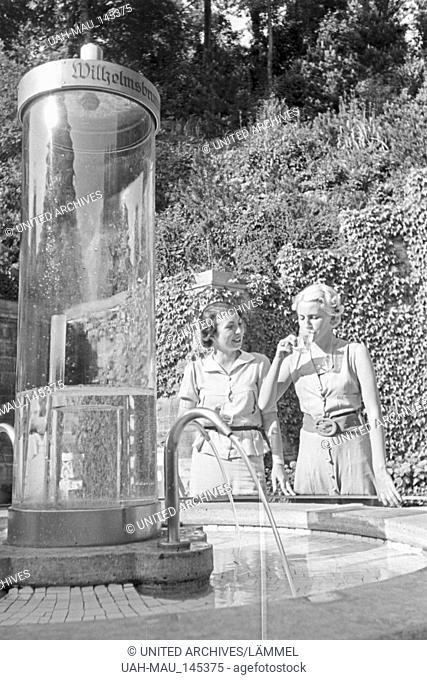 Ein Ausflug nach Stuttgart, Deutsches Reich 1930er Jahre. A trip to Stuttgart, Germany 1930s