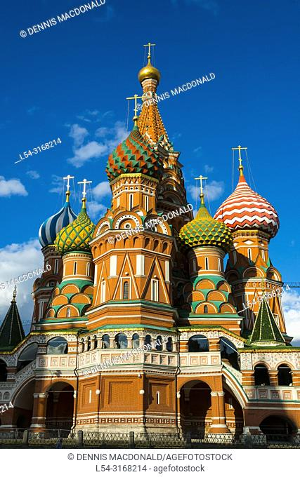 St. Basil's Cathedral The Kremlin Moscow Russian Moskva city National capital of Russia. The Moscow Kremlin (Russian: МоÑ. ковÑ. кий КÑ