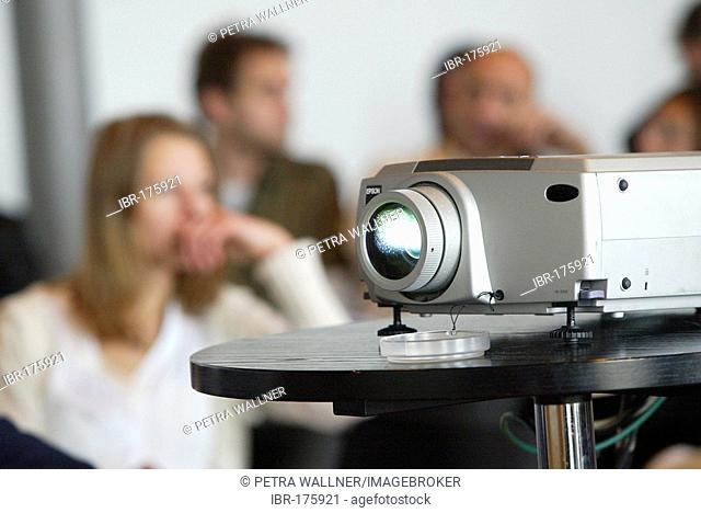 Presentation with Beamer-Projection