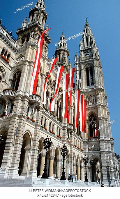 city hall, Austria, Vienna