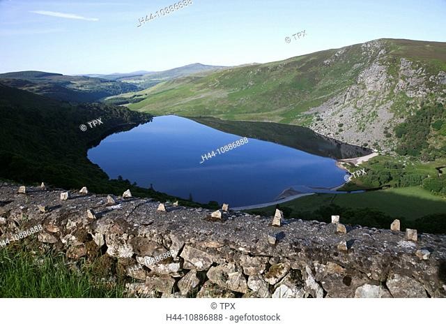 Republic of Ireland, County Wicklow, Wicklow Mountains National Park, Lake Tay