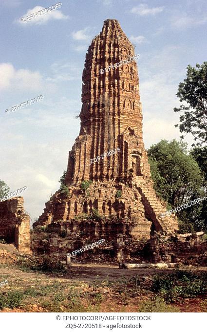 Maing Prang. Wat Rang, Ayutthaya, Thailand. 18th. Century A. D