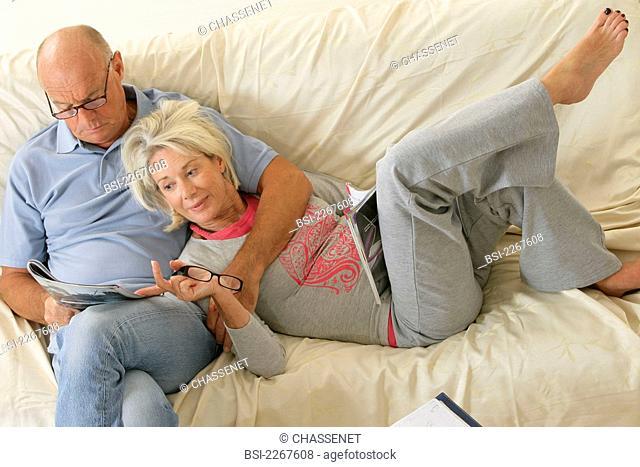 ELDERLY PERSON READING Models