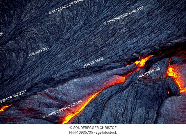 glow, smoulder, lava, eruption, Ertale, volcano, volcanical, Africa, mountain, mountains, fire, nature, Ethiopia