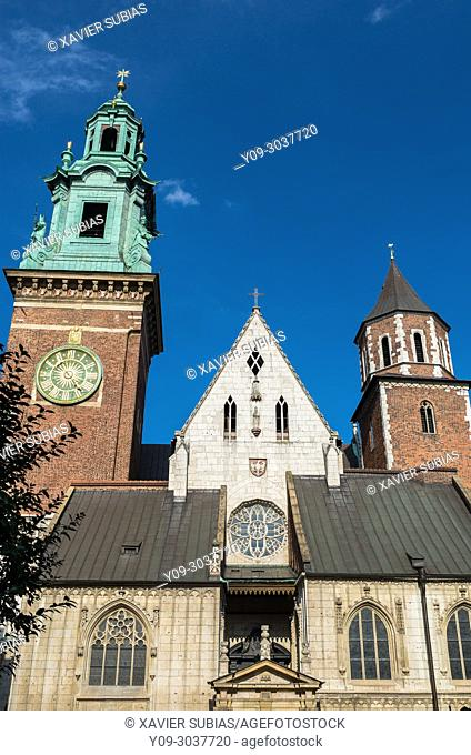 Cathedral Basilica of St. Stanislaus and St. Wenceslaus, Krakow, Poland