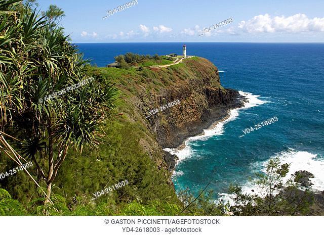 Kilauea Point Lighthouse, Kilauea National Wildlife Refuge, Island of Kauai, Hawaii
