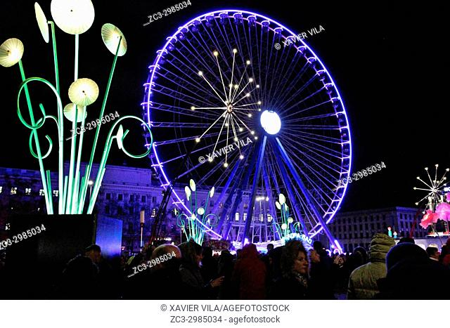 The Festival of Lights, relies on the religious festival known as the feast of December 8, feast of the immaculate conception