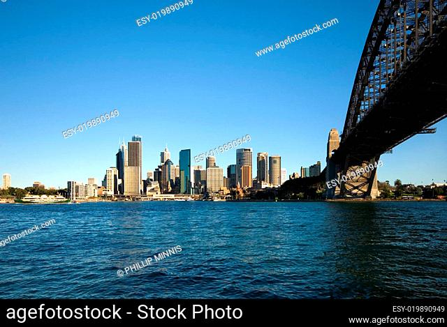 Sydney Harbour Bridge and CBD