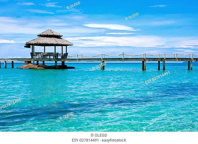 Beautiful tropical beach in Koh Kood , Thailand