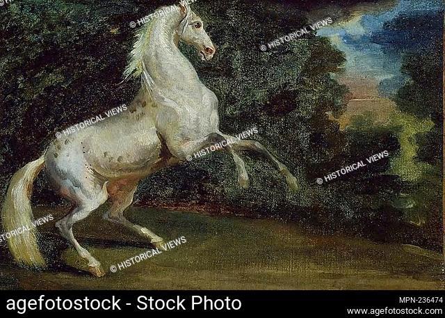 Prancing Horse - 1808/12 - Jean Louis André Théodore Géricault, follower of French, 1791-1824 - Artist: Jean Louis André Théodore Géricault, Origin: France