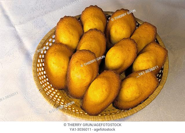 France, Meuse (55), Commercy, local madeleines