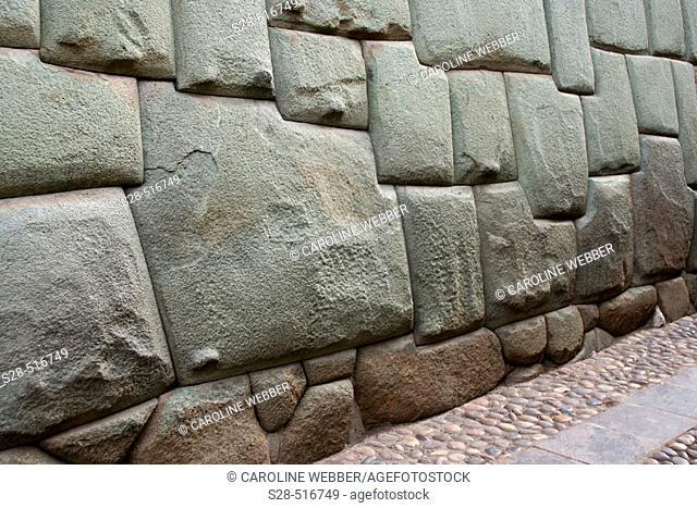12 pointed Inca Stone in Cuzco, Peru