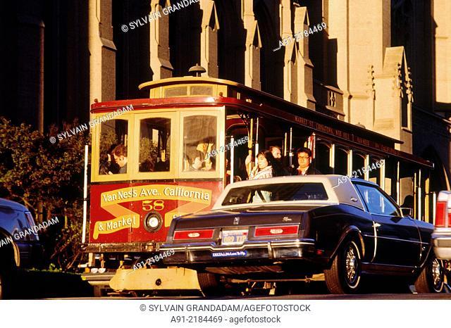Cable-car. .San Francisco .California. United States of America (USA)