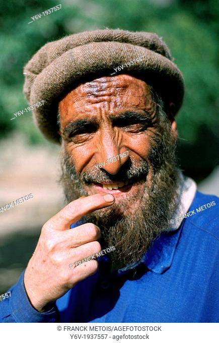 Muslim farmer in Northern Pakistan