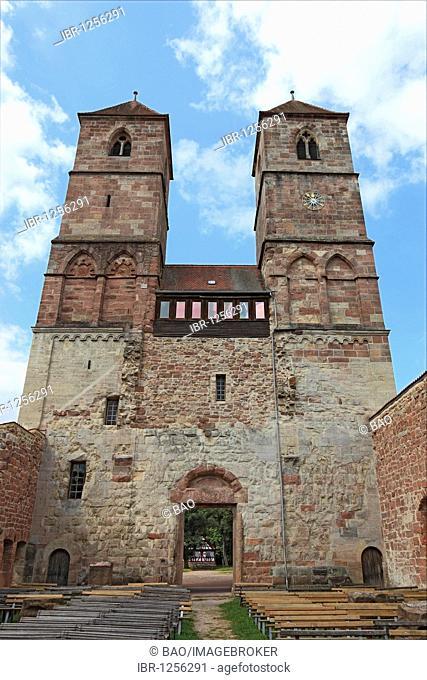 Premonstratensian monastary Sankt Marien at Vessra, Hildburghausen district, Thuringia, Germany