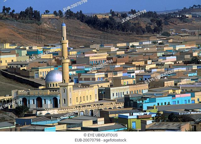 Cityscape and muslim quarter