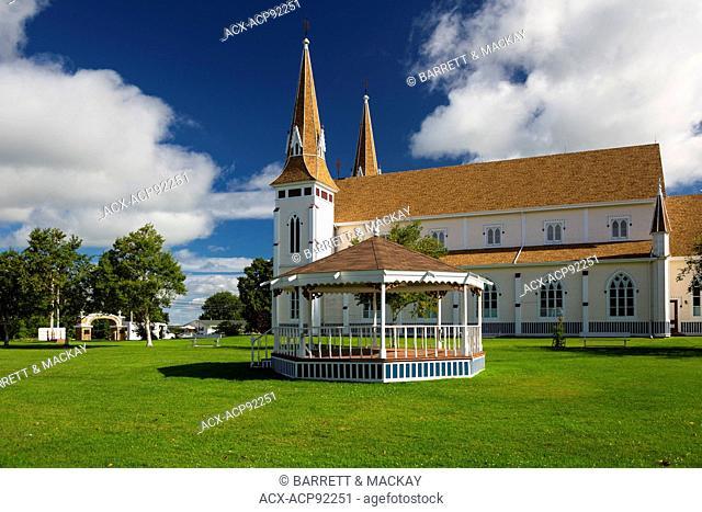 St. John the Baptist Roman Catholic Church, Miscouche, Prince Edward Island, Canada