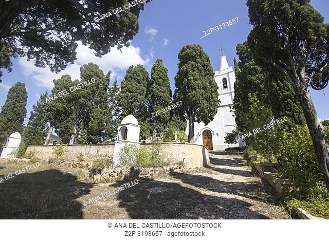 Beniarres village Alicante province Spain The Sanctuary