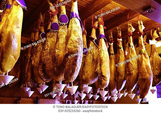 Salamanca jamon iberico iberian ham of Spain