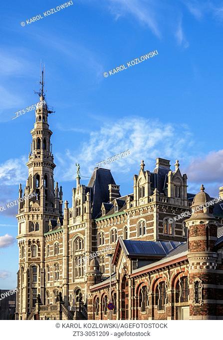 Loodsgebouw, Pilotage Building, Antwerp, Belgium