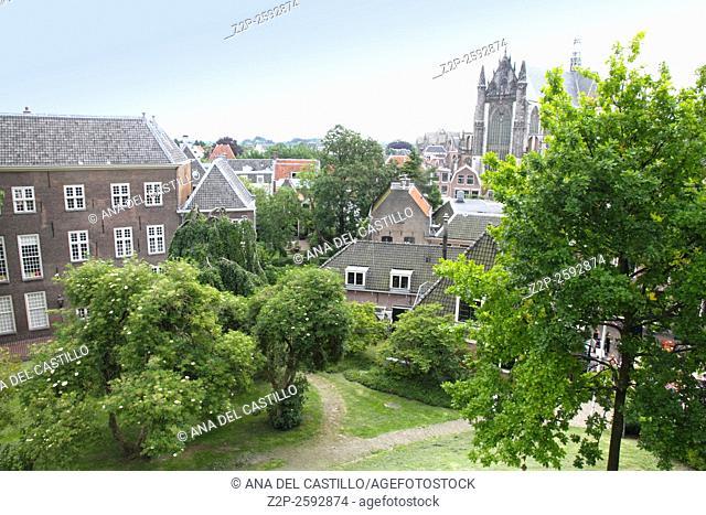 The burcht Leiden Holland