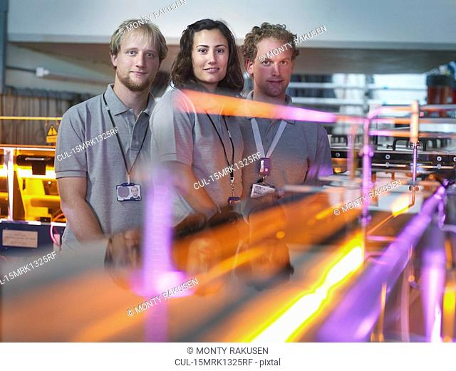 Fusion Reactor Scientists With Lasers