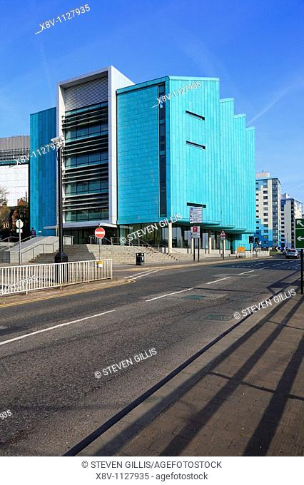 University of Sheffield, Information Commons Building, Sheffield, South Yorkshire, England, UK