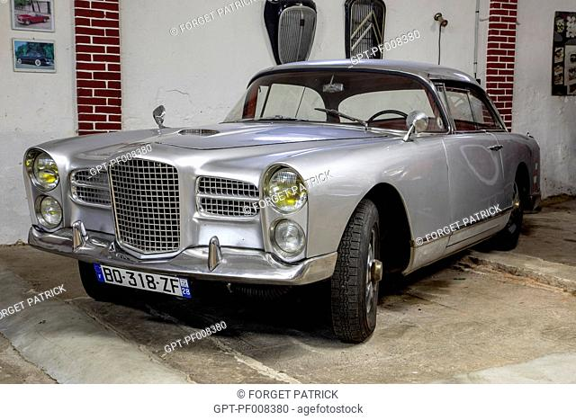 1960 FACEL VEGA, TYPE HK500, THE DROUAIS RETRO MOBILE MUSEUM, EURE-ET-LOIR (28), FRANCE