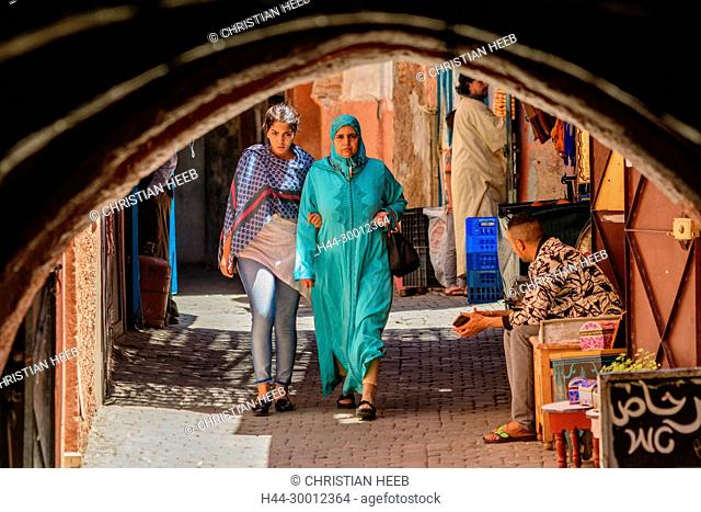 Morocco, Marrakesh, Medina, Africa, African, Northern Africa, Maghreb