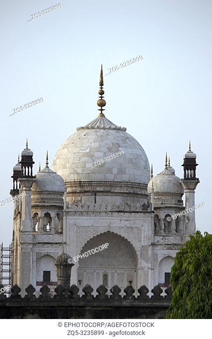 Facade of Bibi Ka Maqbara, Aurangabad, Maharashtra, India