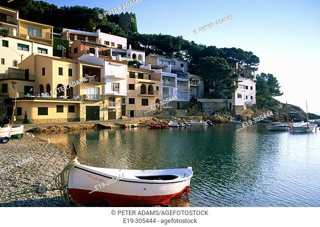 Sa Tuna in Costa Brava. Girona province. Catalonia, Spain